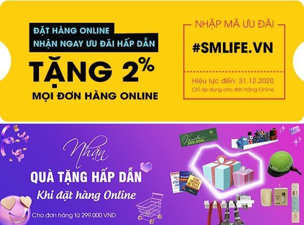 Khuyến mãi mua hàng Online | SMLIFE.vn