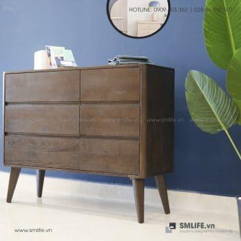 Tủ gỗ trang trí ADELIA | SMLIFE.vn