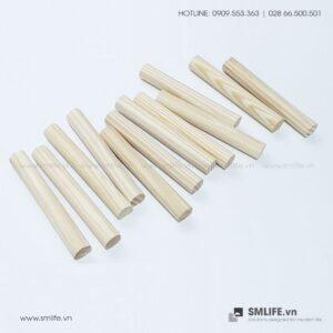 Trụ gỗ Pegboard (Set 12) | SMLIFE.vn
