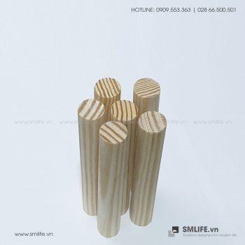 Trụ gỗ Pegboard (Set 6) | SMLIFE.vn
