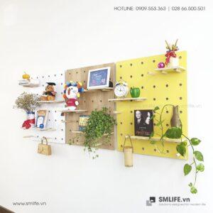 Bảng Gỗ Đục Lỗ SMLIFE Pegboard WP3s | SMLIFE.vn