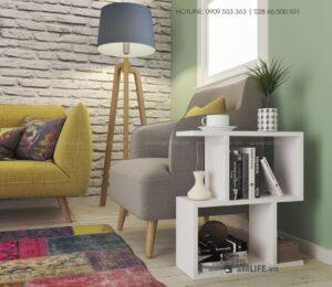 Bàn gỗ cạnh Sofa hiện đại Sawyer  - Vì một sứ mệnh nội thất gỗ tự lắp ráp | SMLIFE