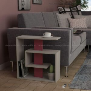 Bàn gỗ cạnh Sofa hiện đại Stacy  - Vì một sứ mệnh nội thất gỗ tự lắp ráp | SMLIFE