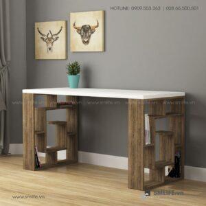 Bàn gỗ làm việc hiện đại Briscoe  - Vì một sứ mệnh nội thất gỗ tự lắp ráp | SMLIFE