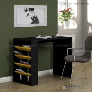 Bàn gỗ làm việc hiện đại Dundy - Vì một sứ mệnh nội thất gỗ tự lắp ráp | SMLIFE
