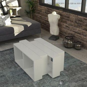 Bàn trà gỗ hiện đại Calvin - Vì một sứ mệnh nội thất gỗ tự lắp ráp | SMLIFE
