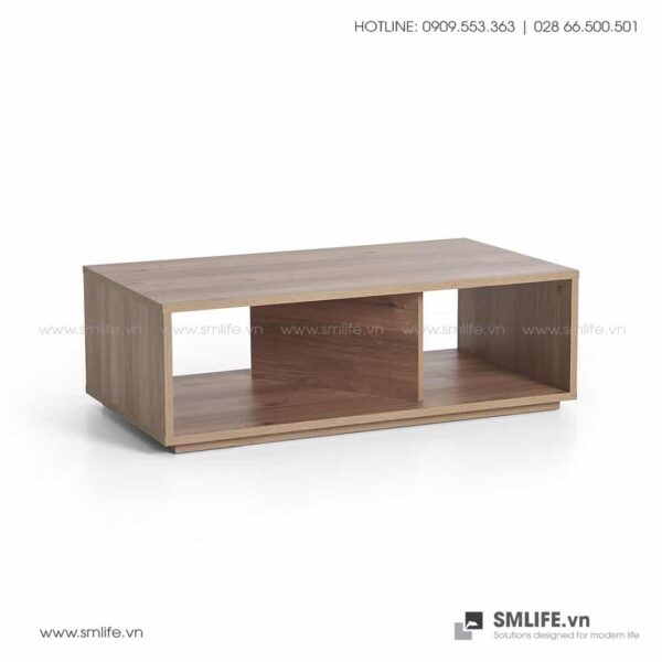 Bàn trà gỗ hiện đại Chase - Vì một sứ mệnh nội thất gỗ tự lắp ráp | SMLIFE