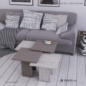 Bàn trà gỗ hiện đại Clark - Vì một sứ mệnh nội thất gỗ tự lắp ráp | SMLIFE