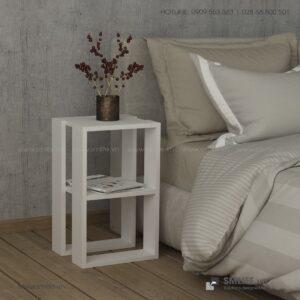 Kệ gỗ đầu giường hiện đại Nellie  - Vì một sứ mệnh nội thất gỗ tự lắp ráp | SMLIFE