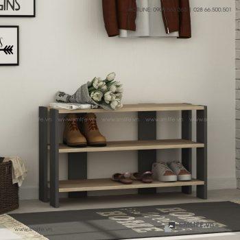 Kệ gỗ để giầy hiện đại Riley  - Vì một sứ mệnh nội thất gỗ tự lắp ráp | SMLIFE