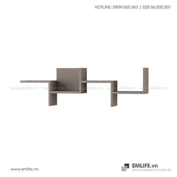 Kệ gỗ gắn tường trang trí hiện đại Watson  - Vì một sứ mệnh nội thất gỗ tự lắp ráp | SMLIFE