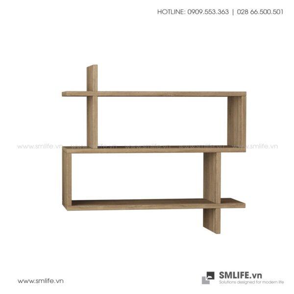 Kệ gỗ gắn tường trang trí hiện đại Westcott  - Vì một sứ mệnh nội thất gỗ tự lắp ráp | SMLIFE