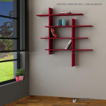 Kệ gỗ gắn tường trang trí hiện đại Will  - Vì một sứ mệnh nội thất gỗ tự lắp ráp | SMLIFE
