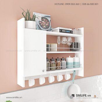 Kệ gỗ nhà bếp Knerr  - Vì một sứ mệnh nội thất gỗ tự lắp ráp | SMLIFE