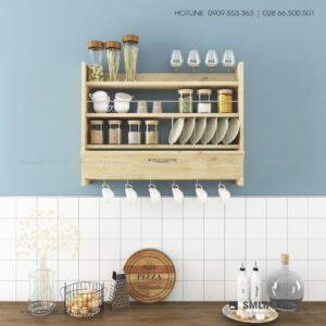 Kệ gỗ nhà bếp Knott  - Vì một sứ mệnh nội thất gỗ tự lắp ráp | SMLIFE