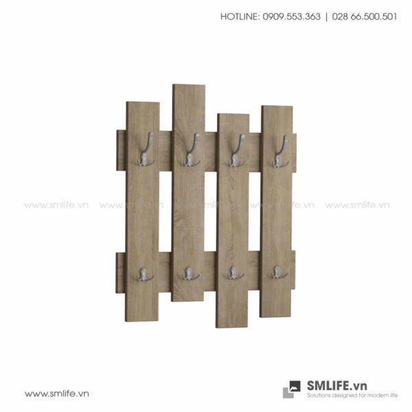 Kệ gỗ sảnh ra vào Haines  - Vì một sứ mệnh nội thất gỗ tự lắp ráp | SMLIFE