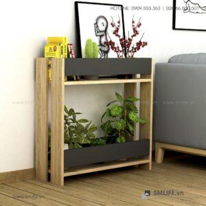 Kệ gỗ trang trí cây cảnh Pearson  - Vì một sứ mệnh nội thất gỗ tự lắp ráp | SMLIFE