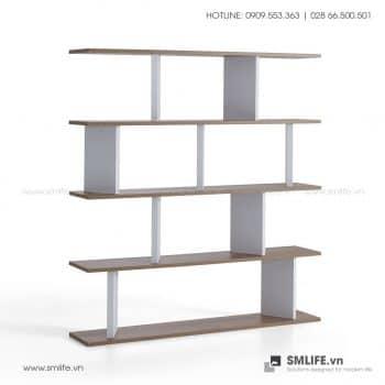 Kệ sách gỗ hiện đại Ballard  - Vì một sứ mệnh nội thất gỗ tự lắp ráp | SMLIFE