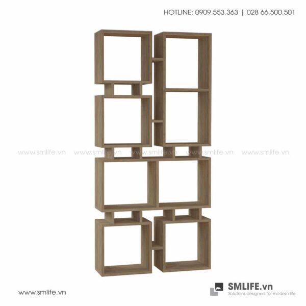 Kệ sách gỗ hiện đại Bancroft  - Vì một sứ mệnh nội thất gỗ tự lắp ráp | SMLIFE