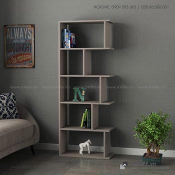 Kệ sách gỗ hiện đại Bayside  - Vì một sứ mệnh nội thất gỗ tự lắp ráp | SMLIFE