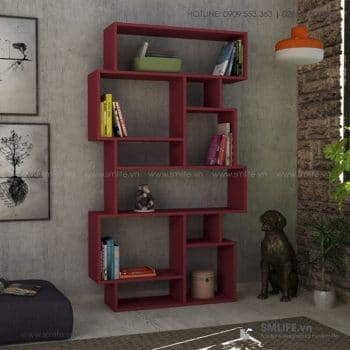 Kệ sách gỗ hiện đại Berkshire  - Vì một sứ mệnh nội thất gỗ tự lắp ráp | SMLIFE