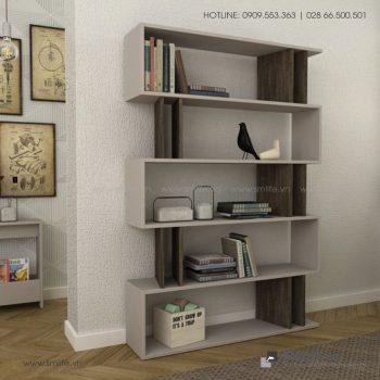 Kệ sách gỗ hiện đại Berwyn  - Vì một sứ mệnh nội thất gỗ tự lắp ráp | SMLIFE