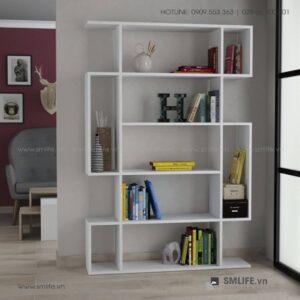 Kệ sách gỗ hiện đại Blair  - Vì một sứ mệnh nội thất gỗ tự lắp ráp | SMLIFE