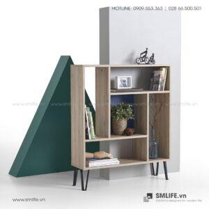 Kệ sách gỗ hiện đại Bron  - Vì một sứ mệnh nội thất gỗ tự lắp ráp | SMLIFE