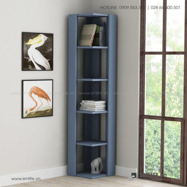Kệ sách gỗ hiện đại Bruce  - Vì một sứ mệnh nội thất gỗ tự lắp ráp | SMLIFE