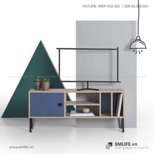 Kệ tivi gỗ hiện đại Bronx  - Vì một sứ mệnh nội thất gỗ tự lắp ráp | SMLIFE