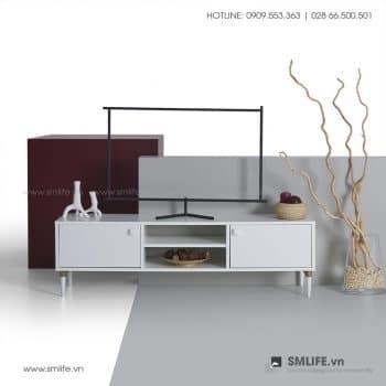Kệ tivi gỗ hiện đại Tama  - Vì một sứ mệnh nội thất gỗ tự lắp ráp | SMLIFE