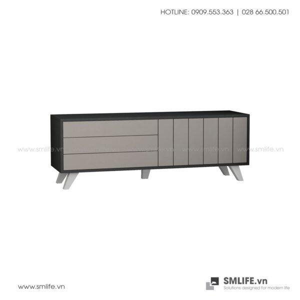 Kệ tivi gỗ hiện đại Tempo  - Vì một sứ mệnh nội thất gỗ tự lắp ráp | SMLIFE