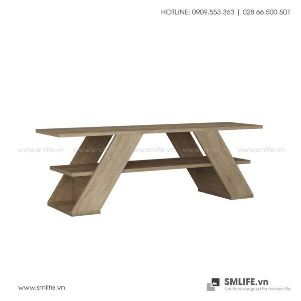 Kệ tivi gỗ hiện đại Tioga  - Vì một sứ mệnh nội thất gỗ tự lắp ráp | SMLIFE