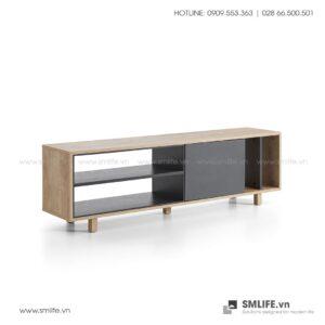 Kệ tivi gỗ hiện đại Tippah  - Vì một sứ mệnh nội thất gỗ tự lắp ráp | SMLIFE