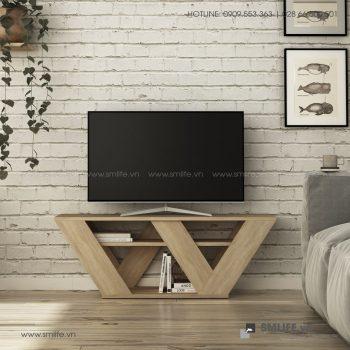 Kệ tivi gỗ hiện đại Todd  - Vì một sứ mệnh nội thất gỗ tự lắp ráp | SMLIFE