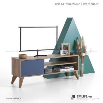Kệ tivi gỗ hiện đại Toole  - Vì một sứ mệnh nội thất gỗ tự lắp ráp | SMLIFE