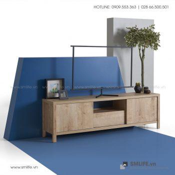 Kệ tivi gỗ hiện đại Tulsa  - Vì một sứ mệnh nội thất gỗ tự lắp ráp | SMLIFE