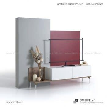 Kệ tivi gỗ hiện đại Tuscola  - Vì một sứ mệnh nội thất gỗ tự lắp ráp | SMLIFE