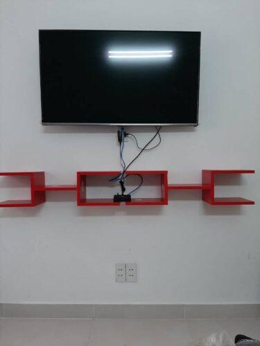Kệ gỗ treo tường trang trí hiện đại Webbs photo review