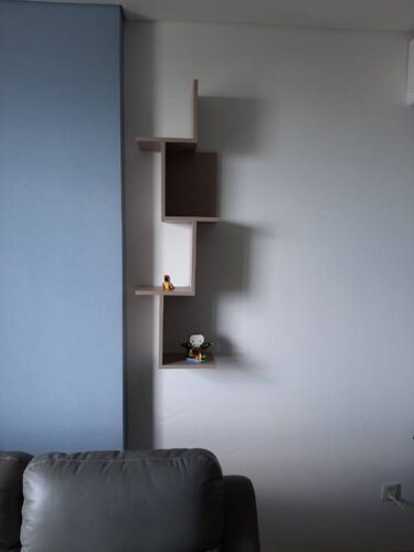Kệ gỗ treo tường trang trí hiện đại Watson photo review