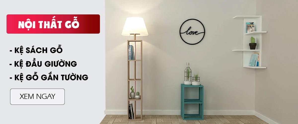 SMLIFE Banner - Danh mục sản phẩm Nội thất gỗ tự lắp ráp