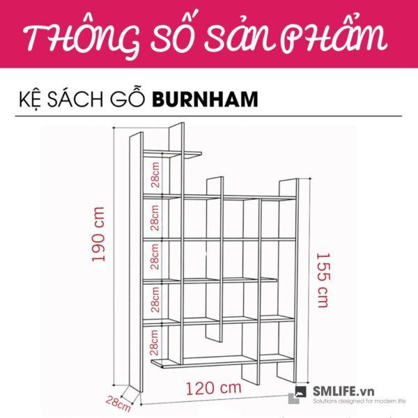 _0007_Kệ sách gỗ hiện đại Burnham