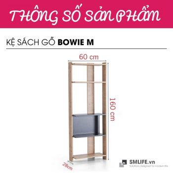 _0022_Kệ sách gỗ hiện đại Bowie - Size M (13)