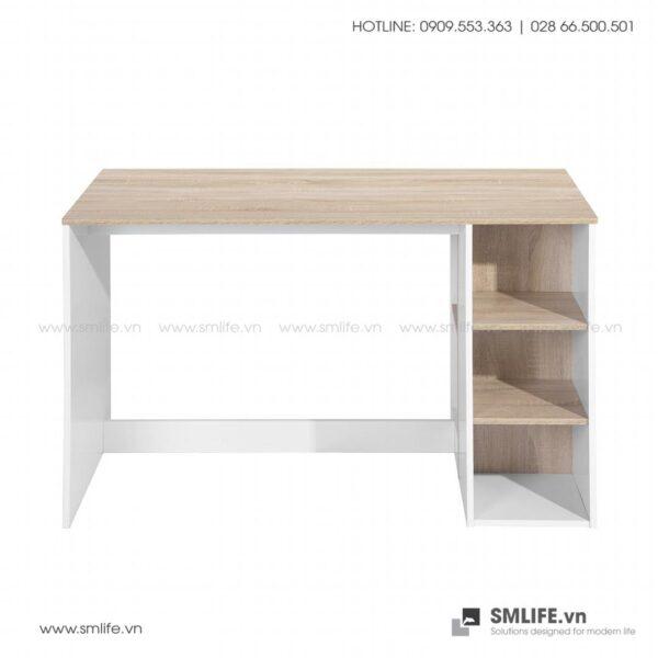 Bàn làm việc, bàn học gỗ hiện đại Deepak (5)