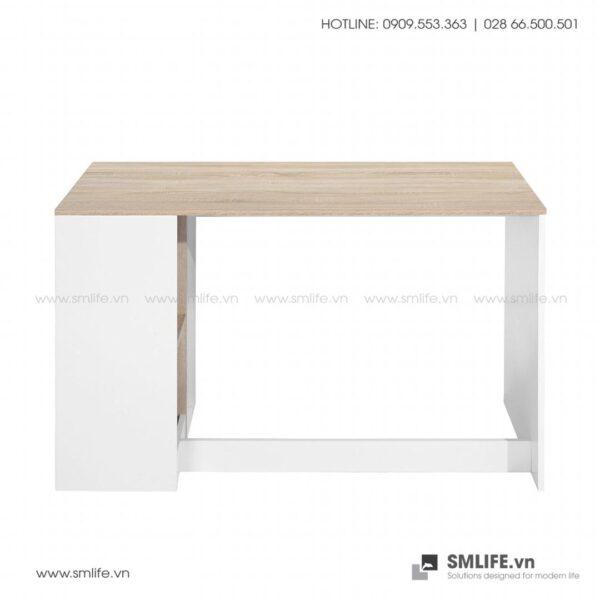 Bàn làm việc, bàn học gỗ hiện đại Deepak (7)