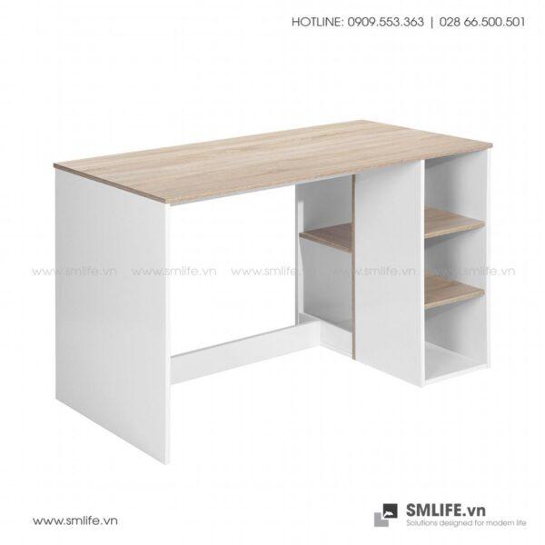 Bàn làm việc, bàn học gỗ hiện đại Deepak (8)