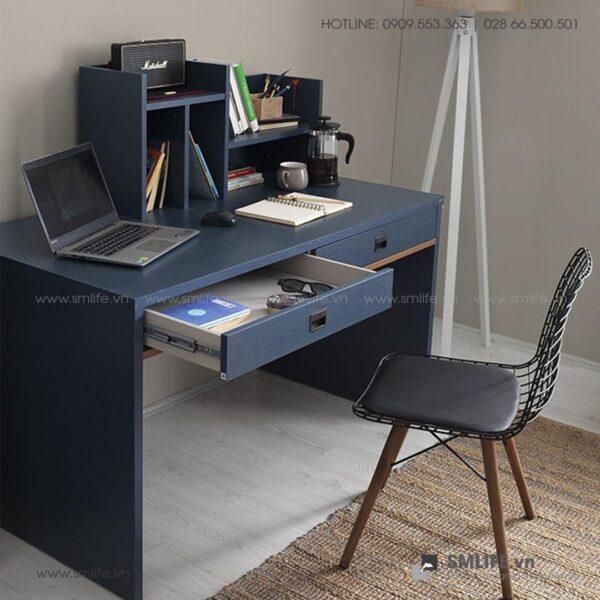 Bàn làm việc, bàn học gỗ hiện đại Delphine (3)