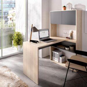 SMLIFE | Bàn làm việc, bàn học gỗ hiện đại Dieter
