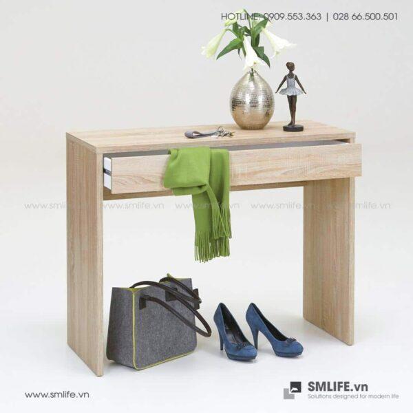 Bàn làm việc, bàn học gỗ hiện đại Dilraba (4)