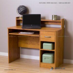 Bàn làm việc, bàn học gỗ hiện đại Dinesh (1)